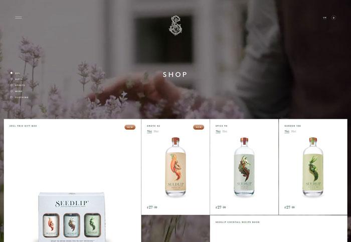 Seedlip网站
